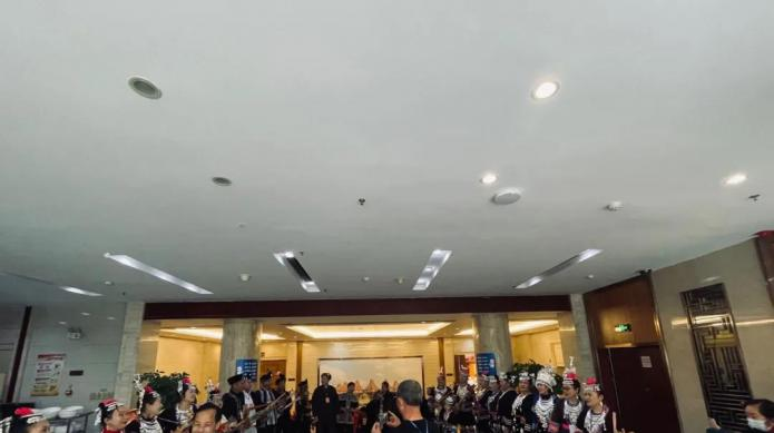 驻邕侗族同胞欢歌载舞庆2020侗年